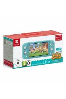 Nintendo Switch Lite (бирюзовый) + Animal Crossing: New Horizons