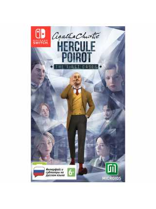 Agatha Christie - Hercule Poirot: The First Cases [Switch]