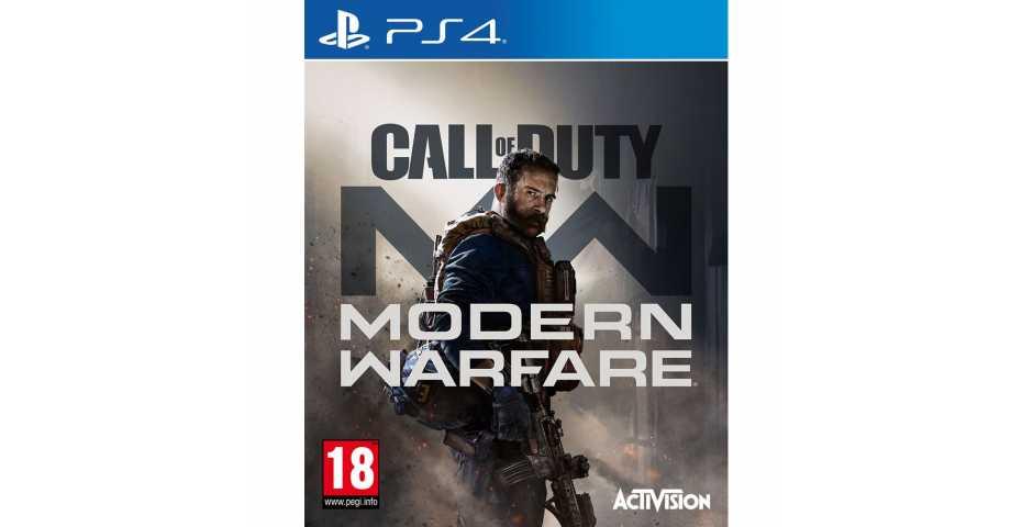 Call of Duty: Modern Warfare [PS4, русская версия]