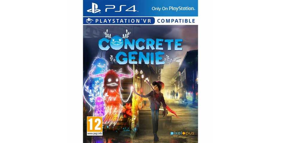 Concrete Genie [PS4, русская версия]