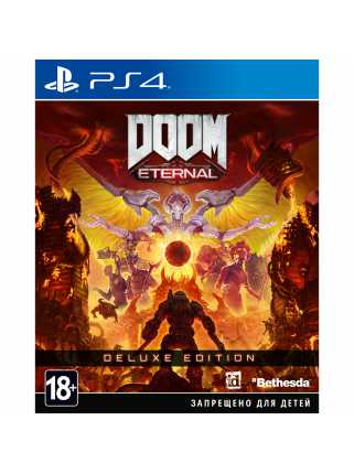 DOOM Eternal - Deluxe Edition [PS4, русская версия]