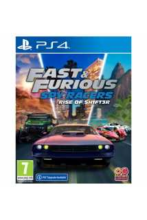 Fast & Furious: Spy Racers Rise of SH1FT3R [PS4]