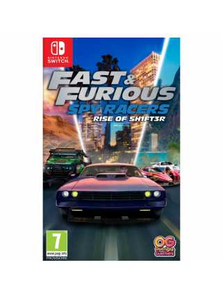 Fast & Furious: Spy Racers Rise of SH1FT3R [Switch]