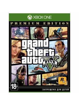 GTA 5 (Grand Theft Auto V) - Premium Edition [Xbox One]