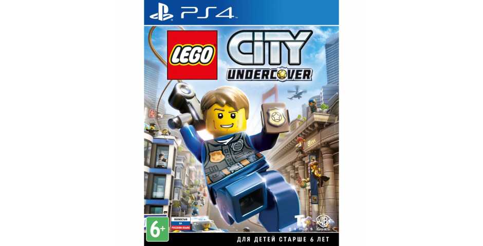 LEGO City Undercover [PS4, русская версия] Trade-in   Б/У