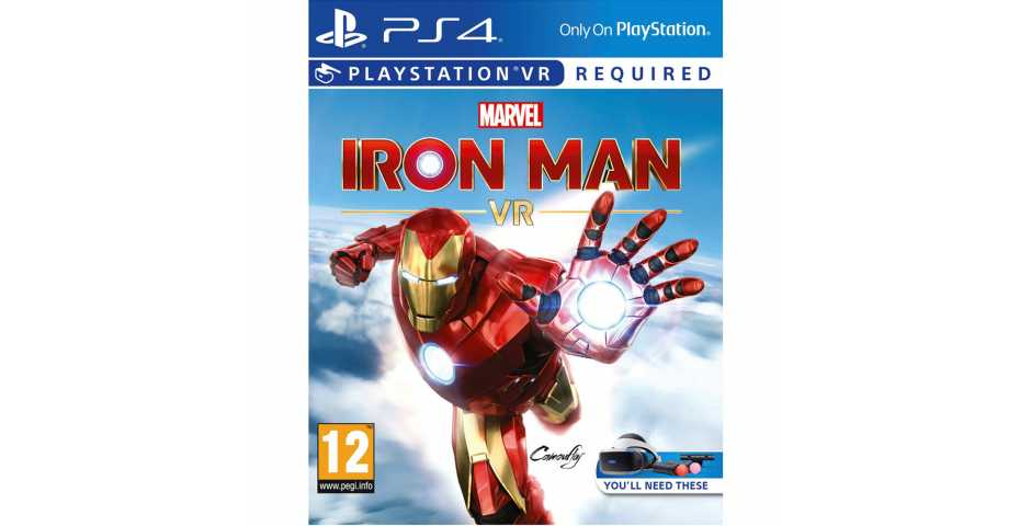 Marvel's Iron Man VR [PS4, русская версия]