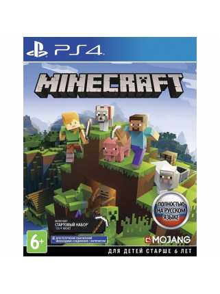 Minecraft (Bedrock Edition) [PS4, русская версия] Trade-in | Б/У