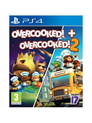 Overcooked! + Overcooked! 2 [PS4]