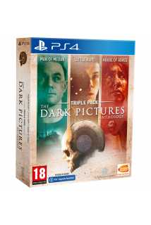 The Dark Pictures - Triple Pack [PS4, русская версия]