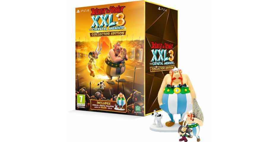 Asterix & Obelix XXL 3: The Crystal Menhir - Collector Edition [PS4, русская версия]
