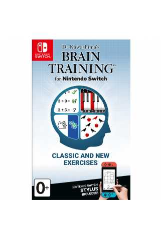 Dr Kawashima's Brain Training for Nintendo Switch [Switch]