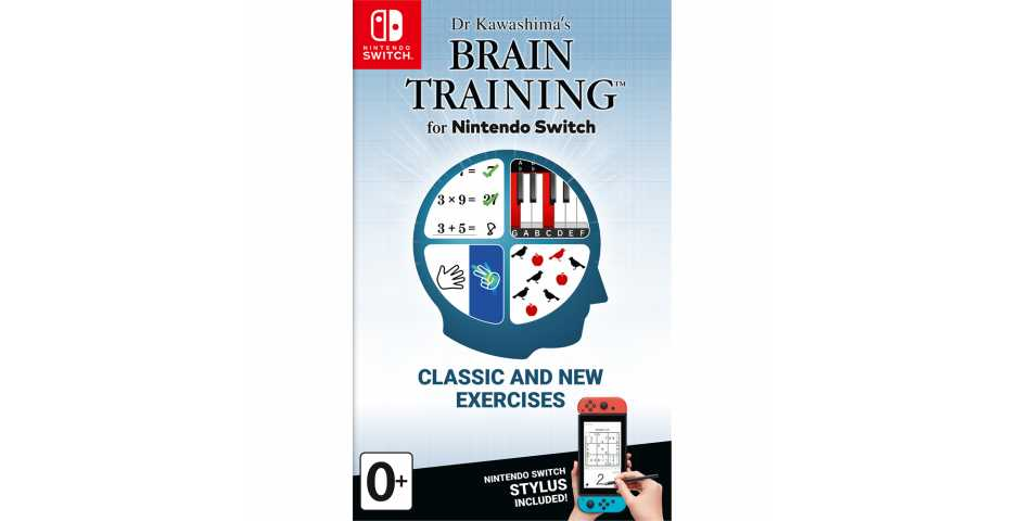 Dr Kawashima's Brain Training for Nintendo Switch [Switch]