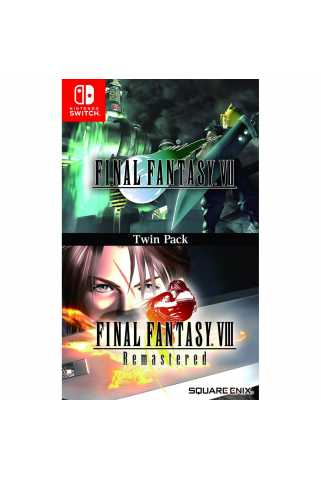 Final Fantasy VII & Final Fantasy VIII Remastered Twin Pack [Switch]