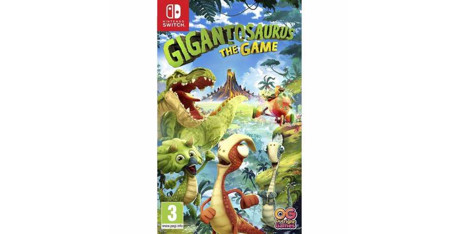 Gigantosaurus: The Game [Switch, русская версия]