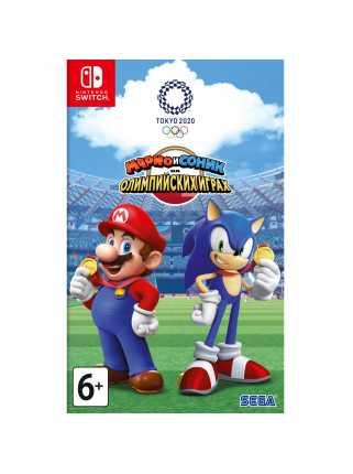 Марио и Соник на Олимпийских играх 2020 в Токио [Switch, русская версия] Trade-in | Б/У