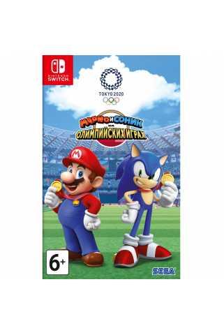 Марио и Соник на Олимпийских играх 2020 в Токио [Switch, русская версия] Trade-in   Б/У