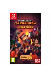 Minecraft Dungeons - Hero Edition [Switch] Trade-in | Б/У