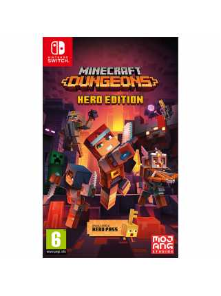 Minecraft Dungeons - Hero Edition [Switch] Trade-in | Б/У