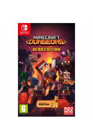 Minecraft Dungeons - Hero Edition [Switch] Trade-in   Б/У