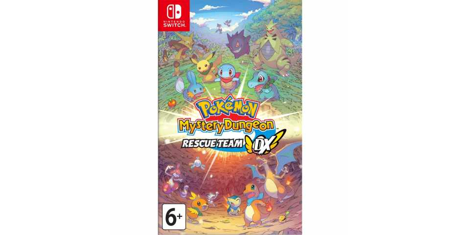 Pokemon Mystery Dungeon: Rescue Team DX [Switch]