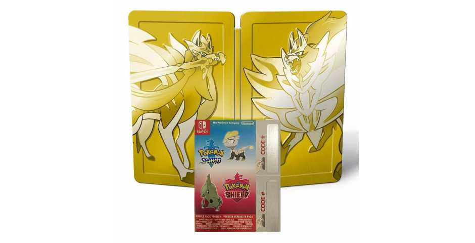 Pokemon Sword and Pokemon Shield Dual Pack (Без игр)
