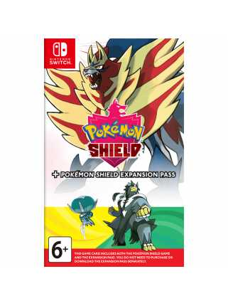 Pokemon Shield + Expansion Pass [Switch]