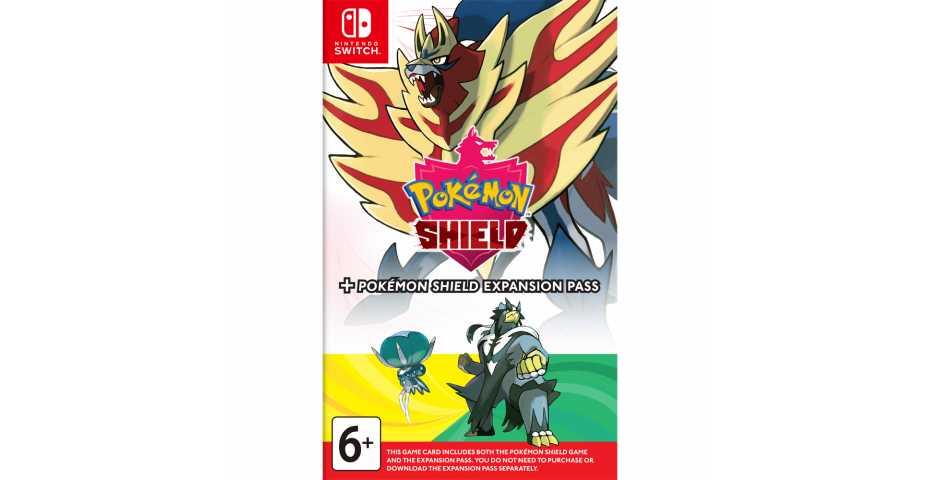 Pokemon Shield + Expansion Pass [Switch]