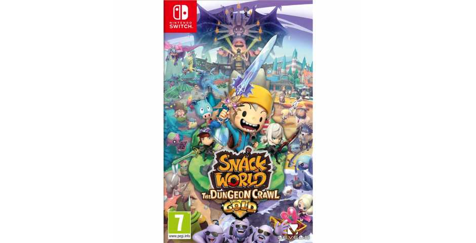 Snack World: The Dungeon Crawl - Gold [Switch]