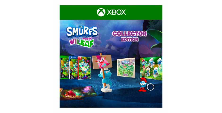 The Smurfs: Mission Vileaf - Collector Edition [Xbox One/Xbox Series]