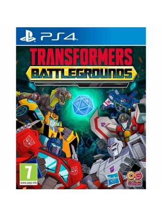 Transformers: Battlegrounds [PS4]