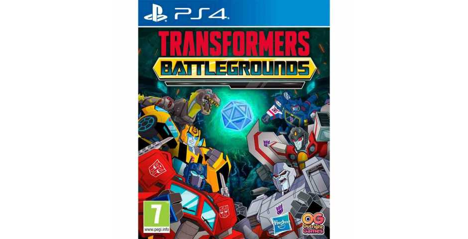 Transformers: Battlegrounds [PS4]