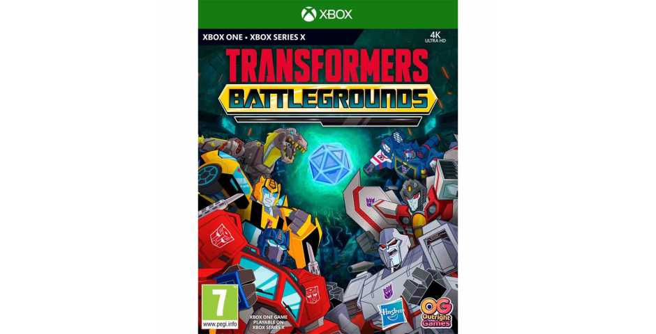 Transformers: Battlegrounds [Xbox One/Xbox Series]