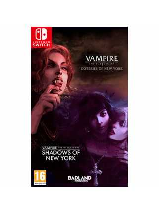 Vampire: The Masquerade - Coteries of New York + Shadows of New York [Switch]