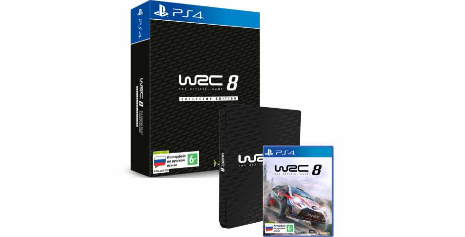 WRC 8 - Collector Edition [PS4]
