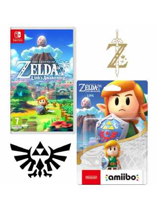 Набор The Legend of Zelda: Link's Awakening [Switch] + amiibo Линк