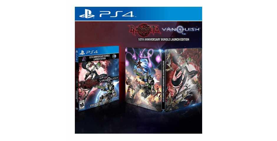 Bayonetta & Vanquish 10th Anniversary Bundle - Launch Edition [PS4]