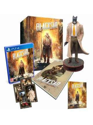 Blacksad: Under The Skin - Collector's Edition [PS4, русская версия]