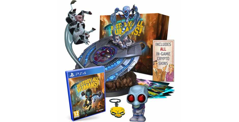 Destroy All Humans! - Collector's Edition [PS4]
