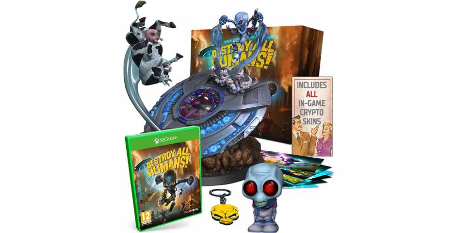 Destroy All Humans! - Collector's Edition [Xbox One]