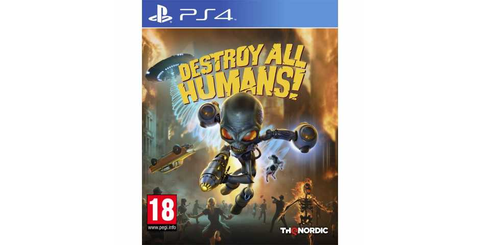 Destroy All Humans! [PS4]