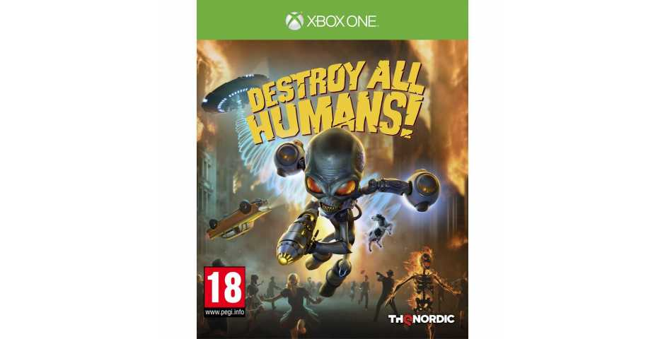Destroy All Humans! [Xbox One]