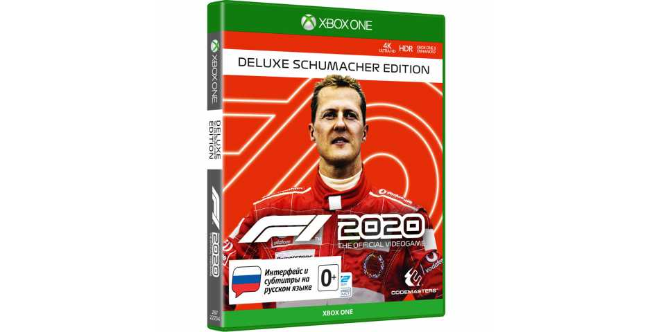 F1 2020 - Deluxe Schumacher Edition [Xbox One]