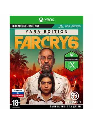 Far Cry 6 - Yara Edition [Xbox One, русская версия]