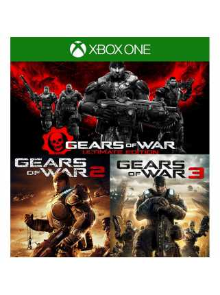 Gears of War: Ultimate Edition + Gears of War 2 + Gears of War 3 (Код) [Xbox One]