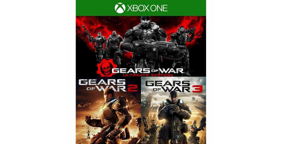 Gears of War: Ultimate Edition + Gears of War 2 + Gears of War 3 (Код) [Xbox One]