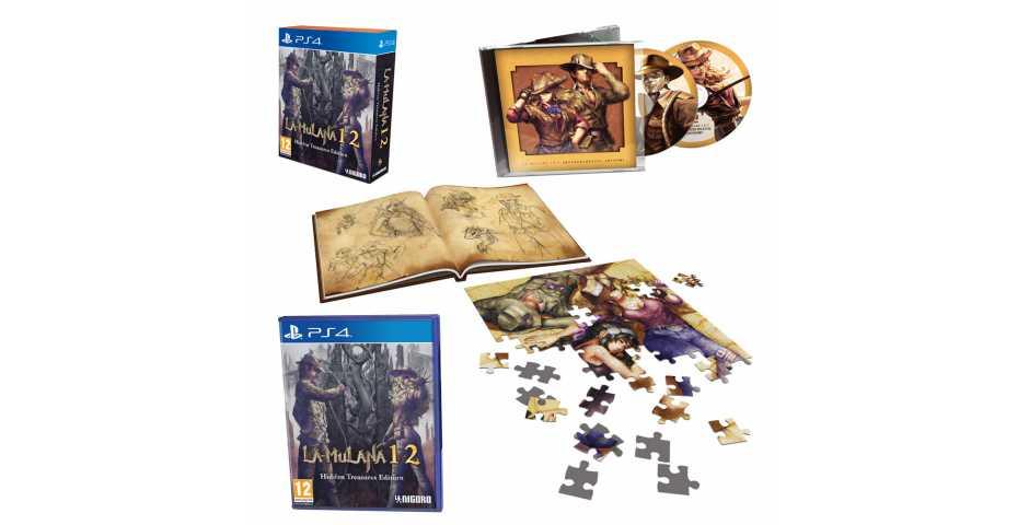 La-Mulana 1 & 2 - Hidden Treasures Edition [PS4]