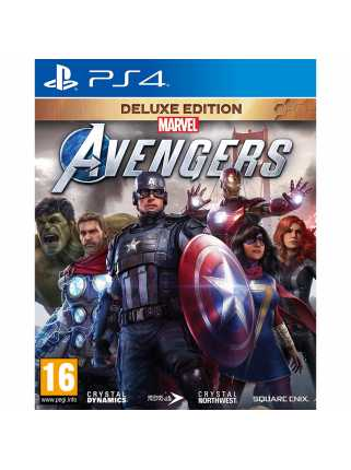 Marvel's Avengers: Deluxe Edition [PS4, русская версия]