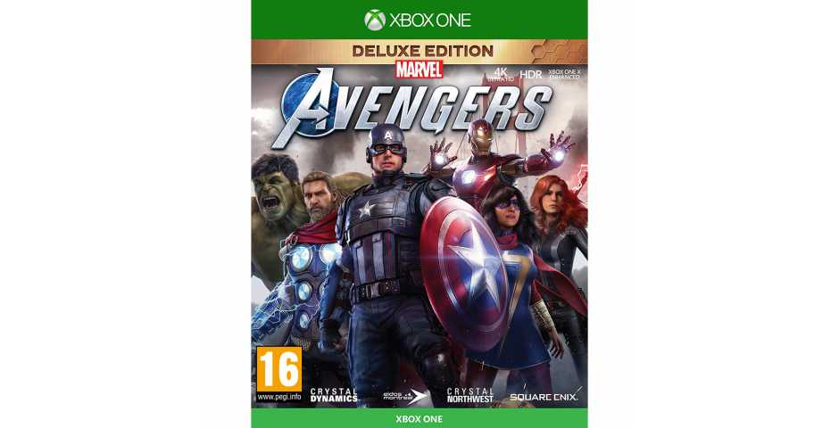Marvel's Avengers: Deluxe Edition [Xbox One, русская версия]