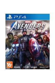 Marvel's Avengers (Мстители Marvel) [PS4, русская версия]