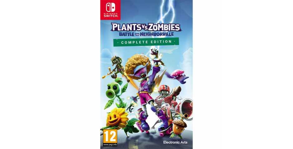 Plants vs Zombies: Битва за Нейборвиль - Полное издание [Switch]